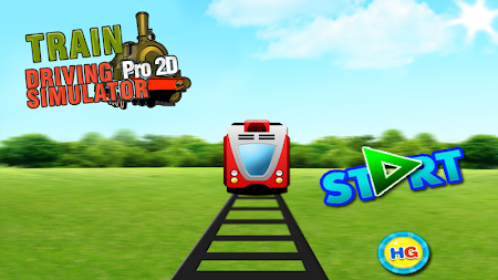Train Driving Simulator Pro 2D 1.6 screenshot 124124