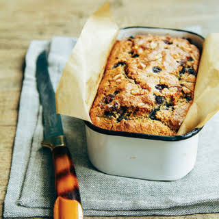 Savory Lemon Rosemary Blueberry Bread.