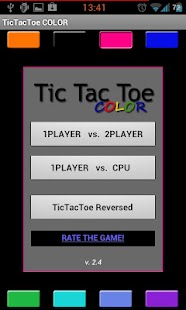 TicTacToe MULTICOLOR - screenshot thumbnail