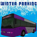 Bus winter parking - 3D game
