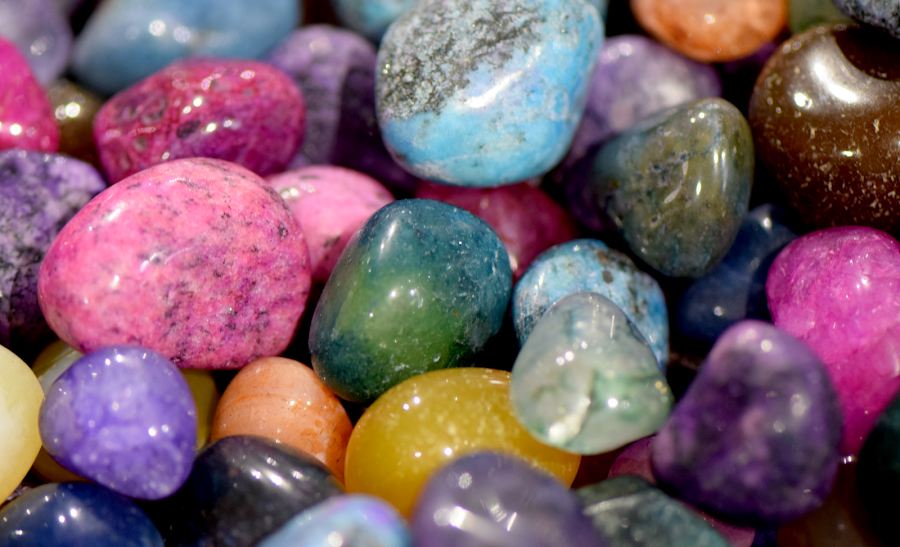 Colored Stones by Lin Fauke - Artistic Objects Other Objects ( color, glass, stone, shine, collection, rocks, , colorful, mood factory, vibrant, happiness, January, moods, emotions, inspiration )