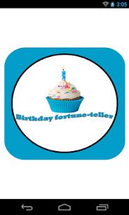 Birthday fortune-teller