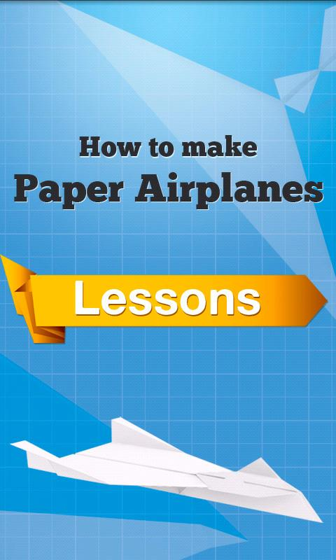 How to make Paper Airplanes - screenshot