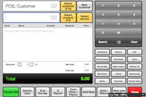 Cash Register- screenshot