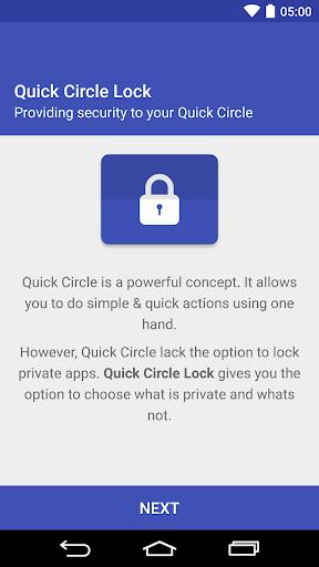 Quick Circle Lock