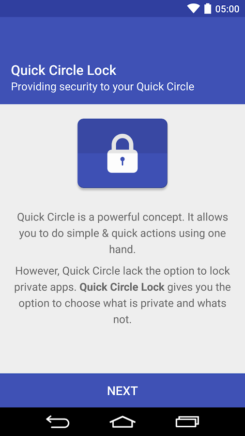 Quick Circle Lock- screenshot
