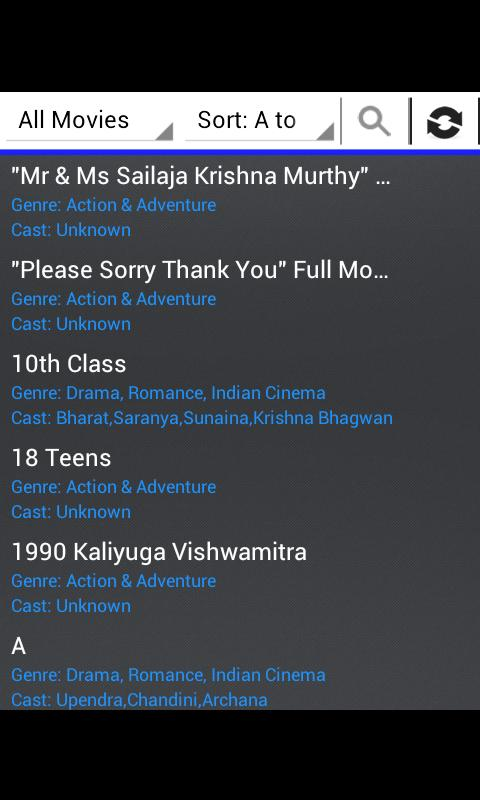 Telugu Movies HD Free - screenshot