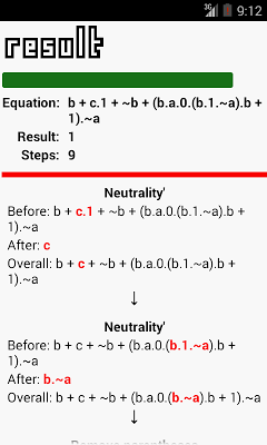 Morgana Boolean Calculator X - screenshot