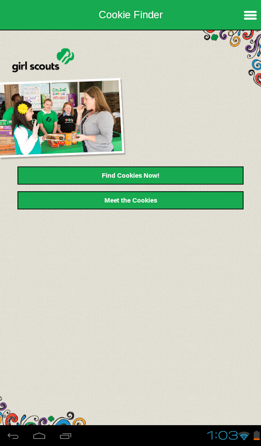 Girl Scout Cookie Finder- screenshot