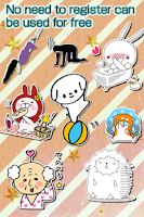 Screenshot of Free Stickers box★Use the chat