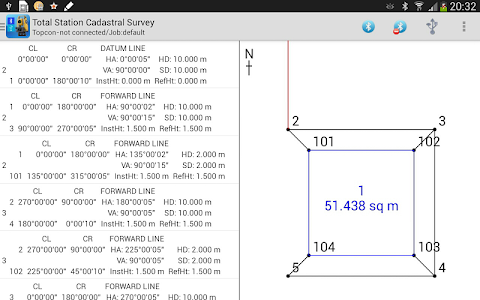 Total Station Cadastral Survey screenshot 8