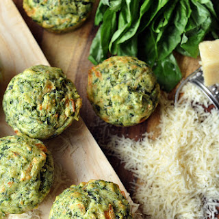 Pesto-Spinach Muffins Recipe