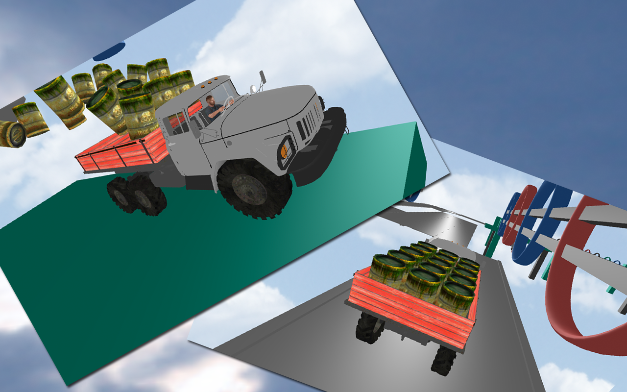 Tough Transport 3D Simulator- screenshot