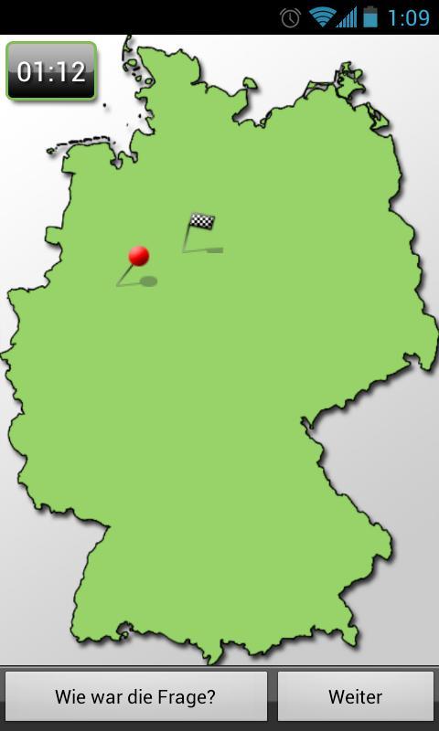 Wo ist der Ort? (Dtld-Quiz) - screenshot
