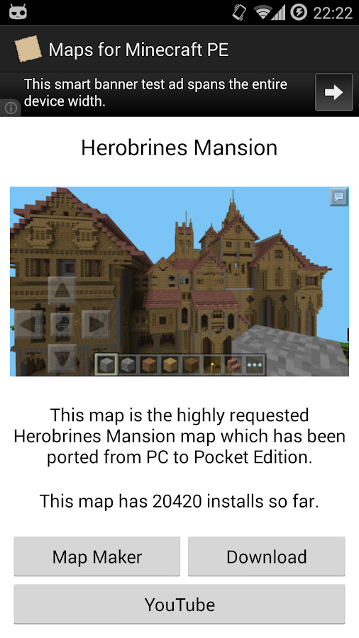 how to create a map in minecraft pe
