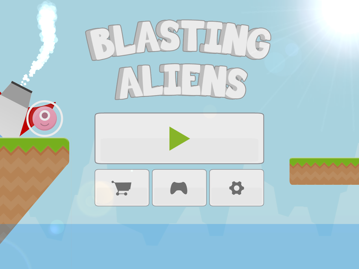 Blasting Aliens- screenshot