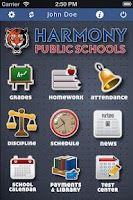 Screenshot of Harmony ParentMobile