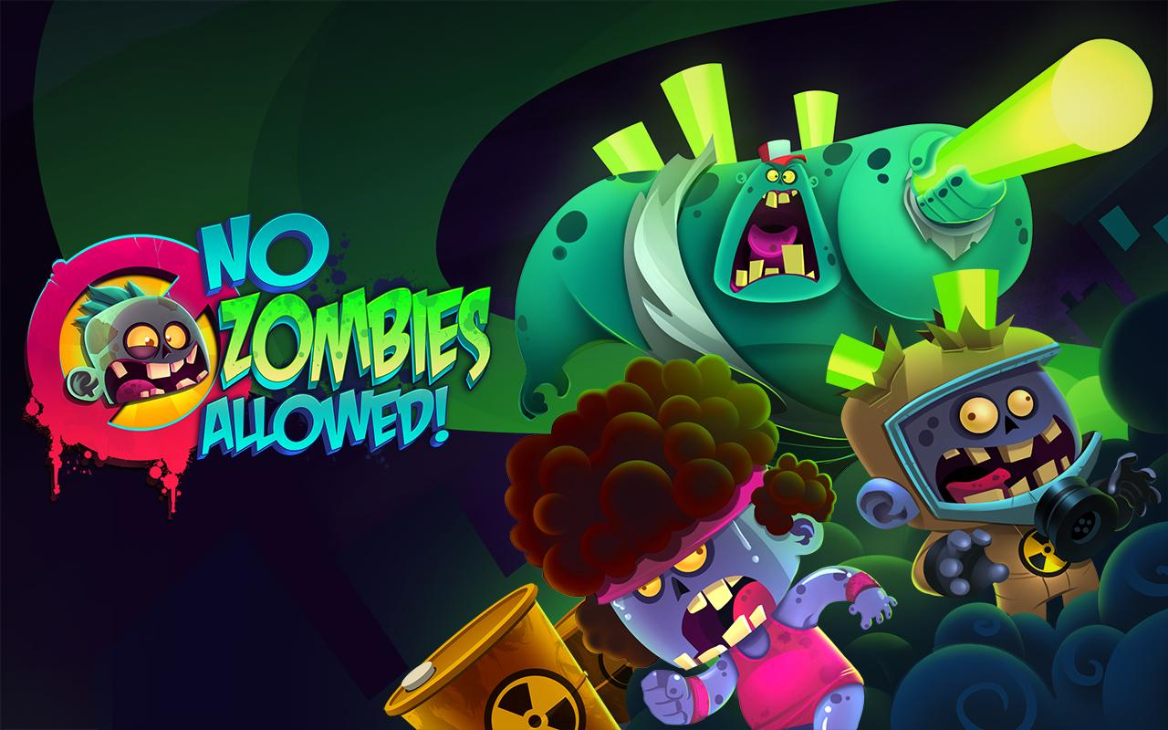 No Zombies Allowed - screenshot