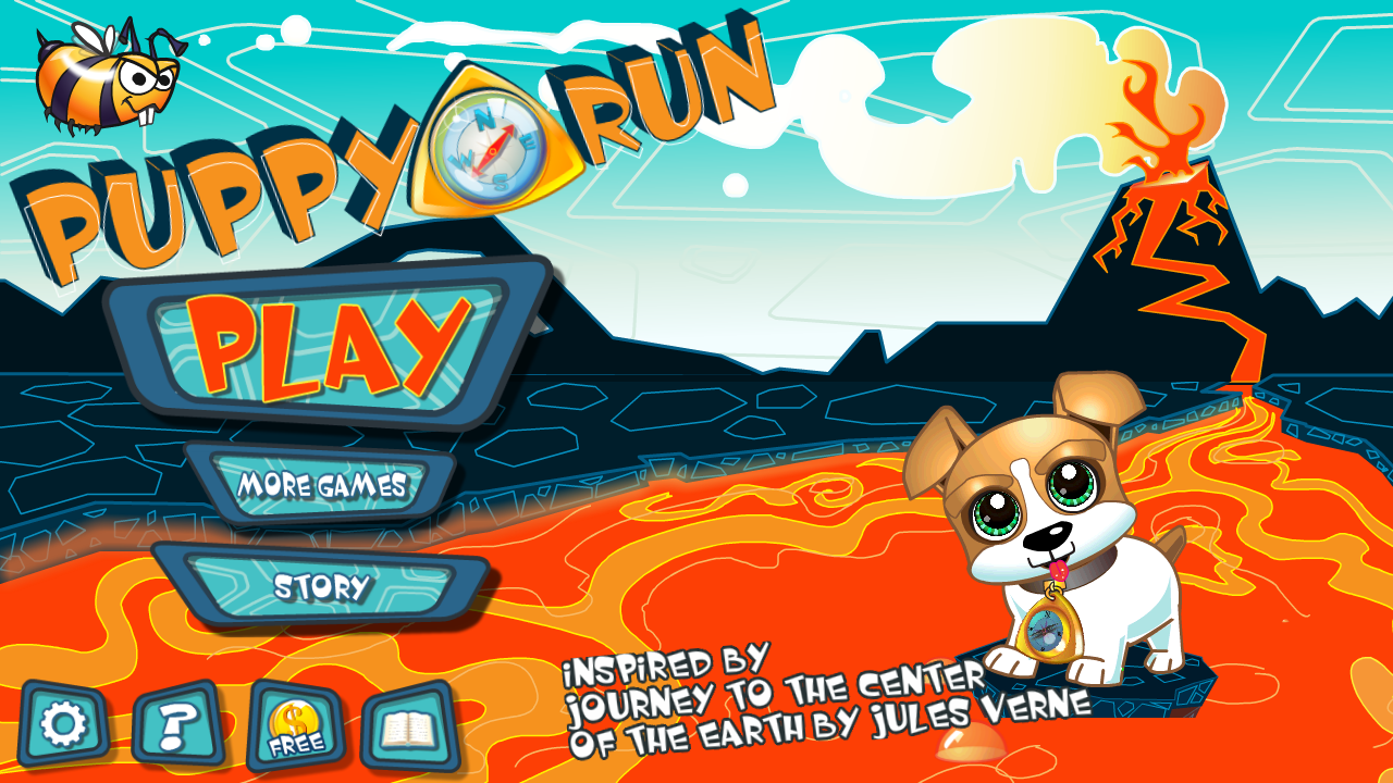 Maze Game Puppy Run- screenshot