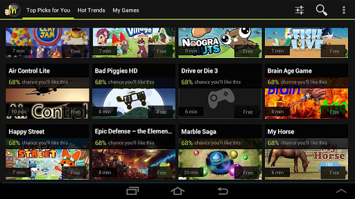 Top Application and Games Free Download Hooked - Game recommendations! 2.1.531.0401 APK File