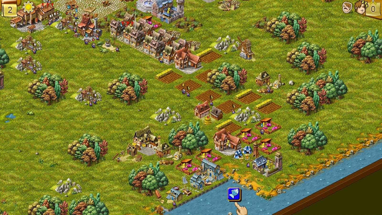 Townsmen 6- screenshot