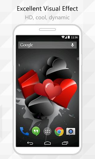 Heart World Live Wallpaper