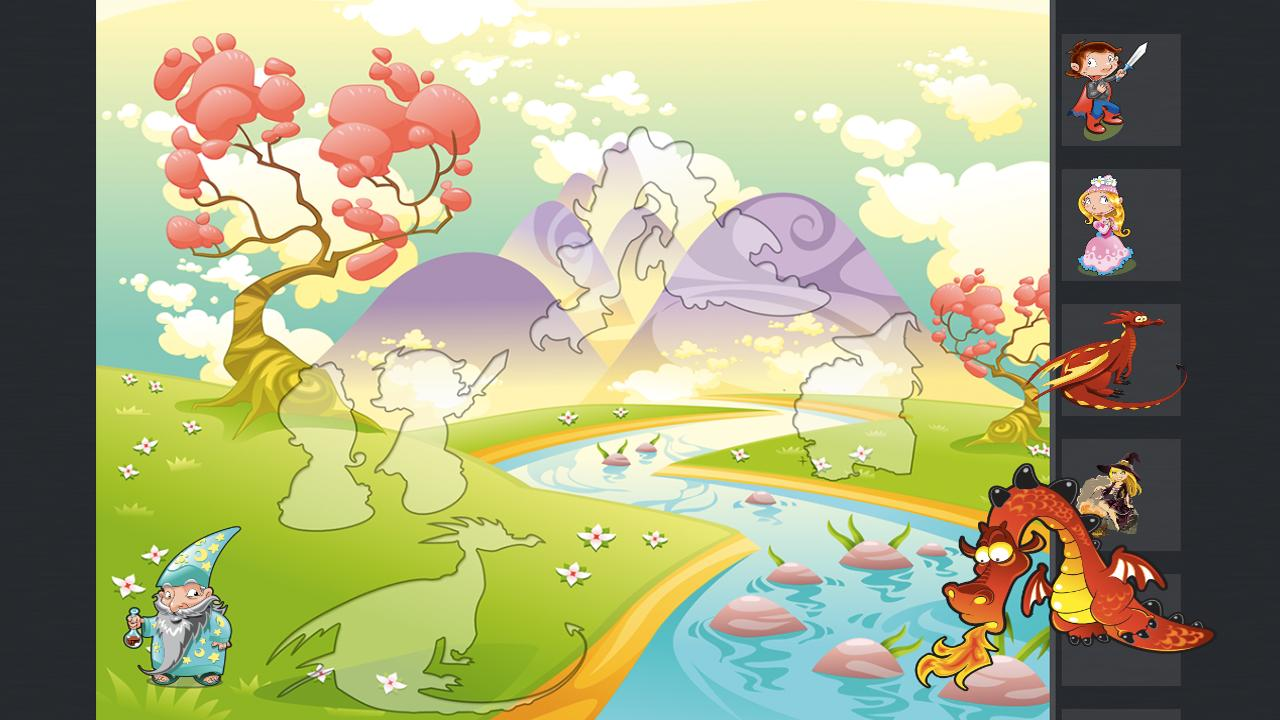 Kids Puzzle Cloud - screenshot