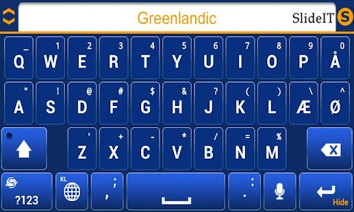 SlideIT Greenlandic Pack- screenshot thumbnail