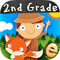 Animal Second Grade Math Games icon