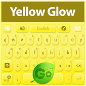 GO Keyboard Yellow Glow