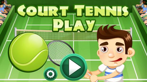 网球场游戏