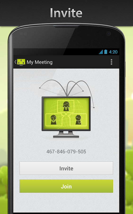 ISL Groop - Online Meetings- screenshot