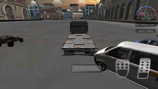 RC Car in Urban City Simulator
