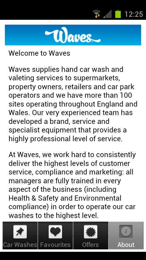 Waves Car Wash- screenshot