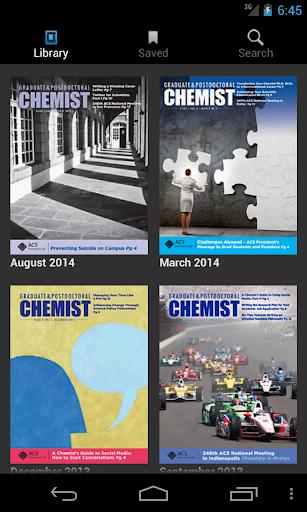 ACS Graduate Postdoc Chemist