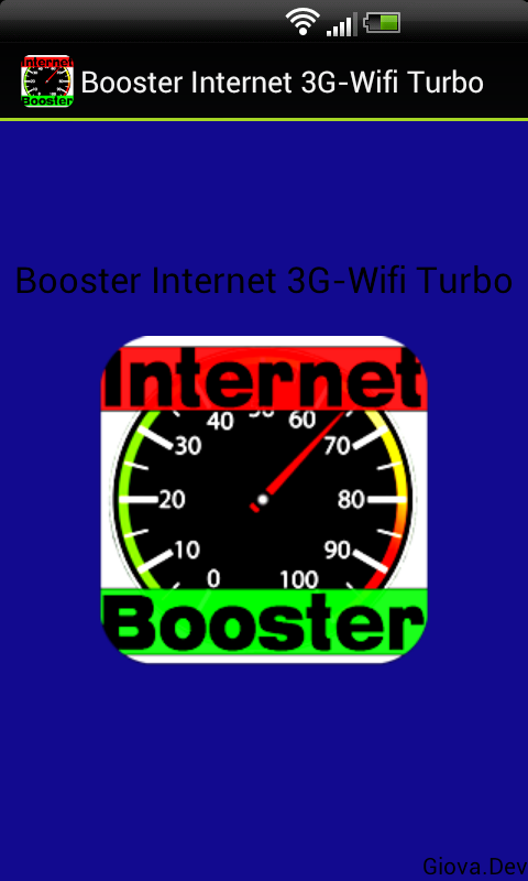 Booster Internet 3G-Wifi Turbo - screenshot