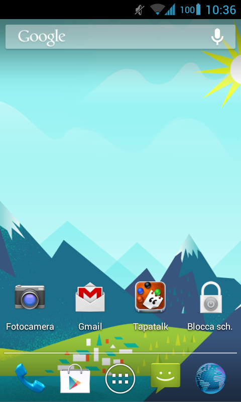 GoogleNowWallpaper HD - screenshot