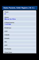 Screenshot of ProntMobile  Prontuário Médico