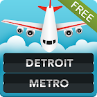 FLIGHTS Detroit Airport icon