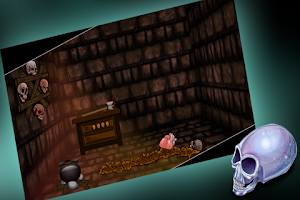 Screenshot of Escape From The Creepy House