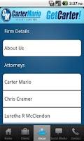 Screenshot of Get Carter! Carter Mario Law