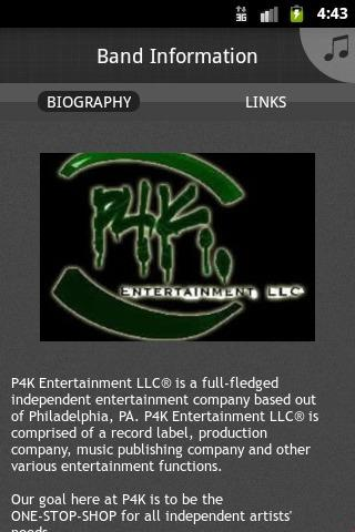 【免費音樂App】P4K Entertainment-APP點子