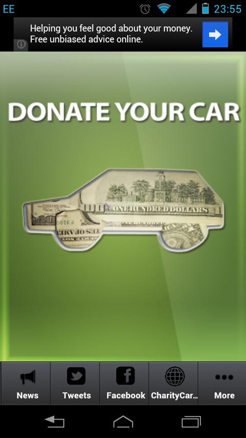 Donate Your Car - screenshot