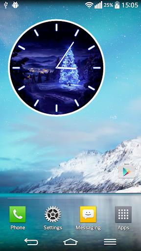 聖誕節 模擬時鐘