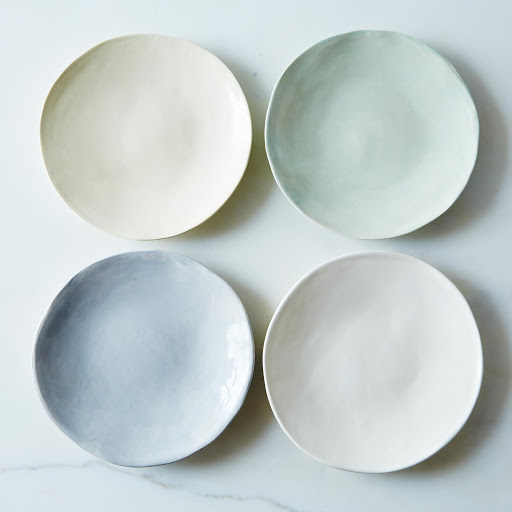 Summer Dessert Plates (Set of 4)