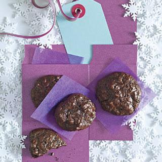 Flourless Chocolate-Walnut Cookies.