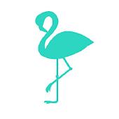Turquoise Flamingo