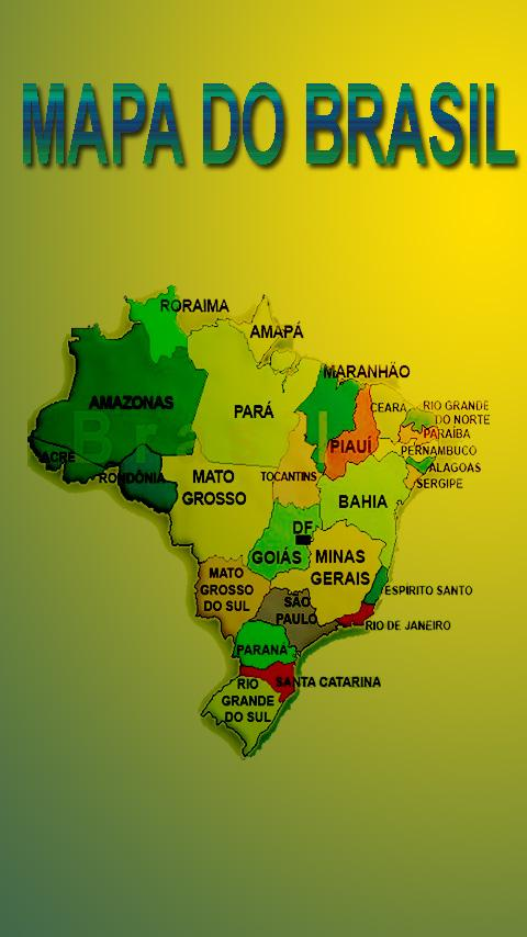 Mapa do Brasil - screenshot