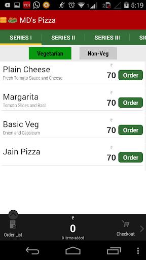 【免費購物App】MD's Pizza-APP點子