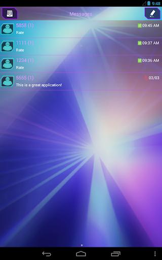 【免費娛樂App】GO短信加强版氖激光-APP點子